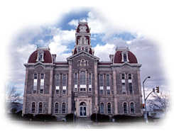 Left click to see Historic Texas Courthouses